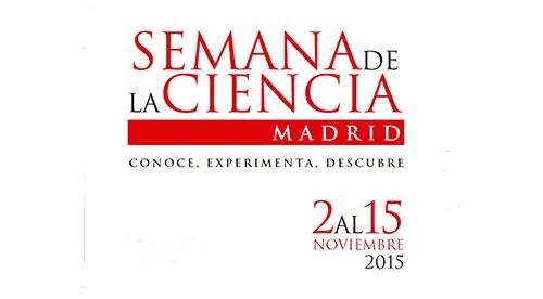 Semana de la ciencia 2015