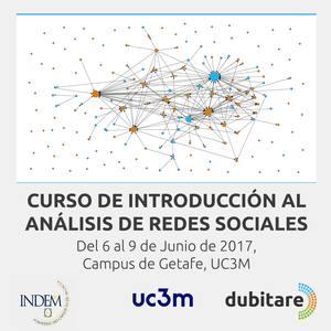 Curso de Introducción al Análisis de Redes Sociales, 4-9 de junio 2017