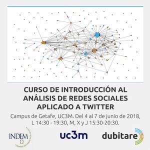 Curso Introducción al ARS con Twitter 4-7 de Junio 2018. Campus Getafe, UC3M Madrid